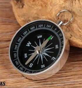 Корманный компас для путешествий. Новый