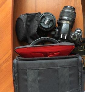 Продам камеру Никон с дополнительным объективом