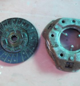 Диск и карзина сцепления на УАЗ