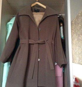 Пальто весеннее (утеплённое), кашерим