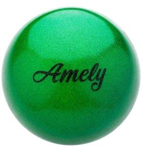 Мяч художественная гимнастика 15 см с блестками