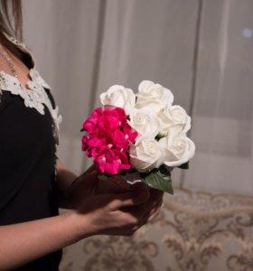 Букет из мыльных роз (Love)