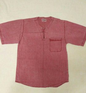 Рубашка джинсовая. Р50