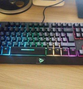 Игровая клавиатура с подсветкой QCyber Tomahawk