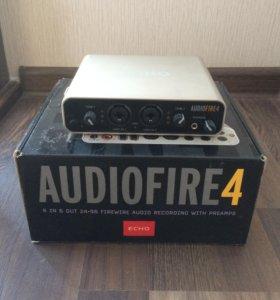 Продаю внешнюю звуковую карту Echo AudioFire4