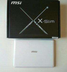 Ноутбук MSI X-SLIM X370 (белый)