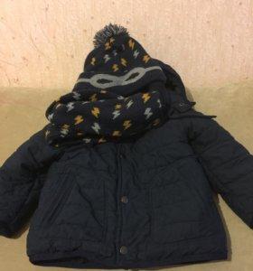 Куртка, шапка, снуд ( Зара)