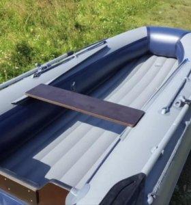 лодка надувная флагман новая DK 380