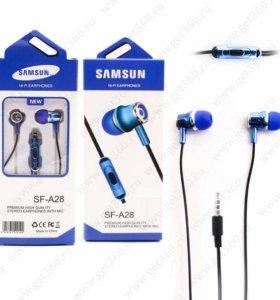 Наушники Samsung SF-A28 Blue (Синий)