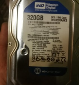 Жесткий диск Western Digital Caviar Blue 320 Gb