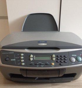 МФУ Epson Stylus CX6400 струйный, цветной