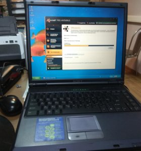 Рабочий ноутбук
