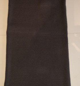 Юбка вязаная шерстяная лапша Zara новая