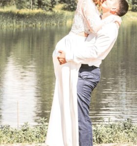 Свадебное платье (комплект)