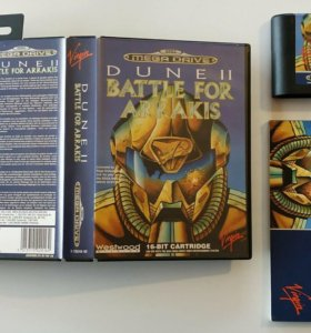 Dune 2 Battle For Arrakis для Sega Mega Drive
