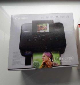 Новый компактный фотопринтер