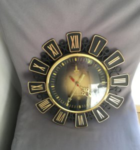 Часы настенные СССР Янтарь