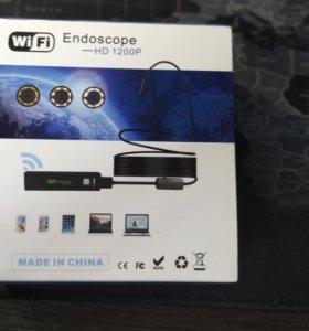 Эндоскоп 3.5м HD WiFi 1200p