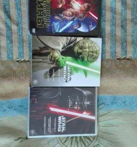 Звёздные войны коллекционные DVD