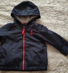 Демисезонная куртка на мальчика 1,5-2 года