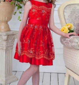 Нарядное платье alolika 128 размера (6-8 лет)