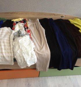 Женская одежда 46-48 размер (15 вещей)
