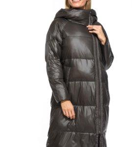 Зимнее пальто IF8891S серый