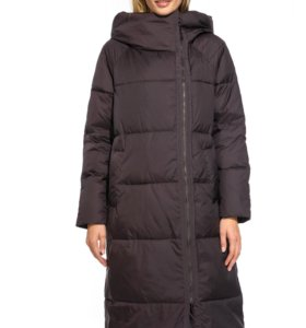Зимнее пальто IF8891S баклажан