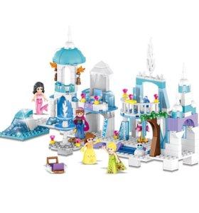 Конструктор Disney Princess Замок 4в1 Аналог лего