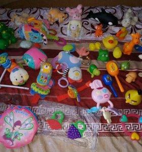 Пакет развивающих игрушек погремушек игрушек