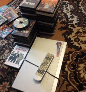 DVD BBK И диски в подарок