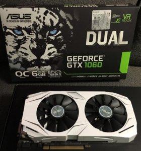 ASUS GeForce GTX 1060 6 Гб 1569MHz PCI-E 3.0