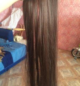 Волоса на заколках