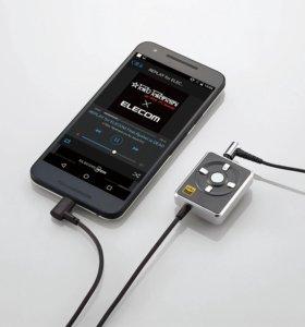 Внешняя звуковая карта (цап) для Android Elecom