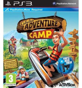 игра Cabela's Adventure Camp на ps3