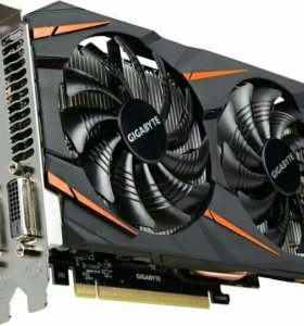 Gigabyte GeForce GTX 1060 Windforce OC 6GB