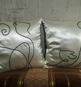 Подушки на заказ.на фото в наличии