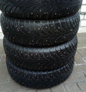 зимние шипованные шины Cordiant R14 175/65