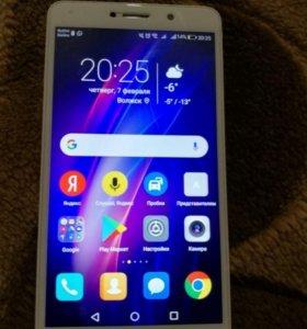 Телефон HONOR HUAWEI 6x, цвет золото