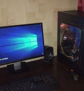 """Gamer PC 23""""; GTX 1060; 6-ядер; 500Гб"""