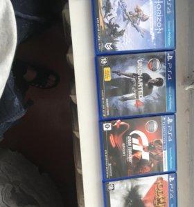 Продам 4 игры для PS 4