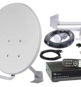 Настройка и установка спутниково оборудования