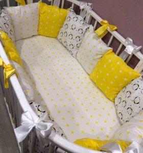 Комплекты бортики в кроватку