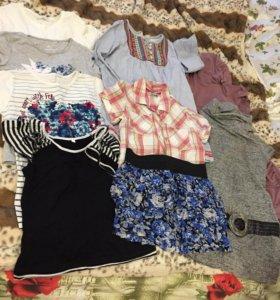 Пакет вещей на 9-13лет, 400 рублей