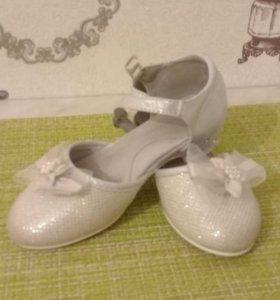 Туфельки 27 размер