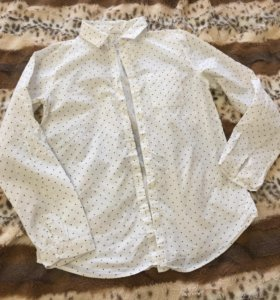 Рубашка на девочку Zara, 11-12 лет, 250 рублей