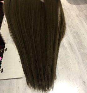 Волосы на заколках термо