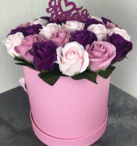 Букет из неувядающих роз
