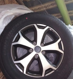 Колеса (шины, диски) 215 65 16 Continental Cross