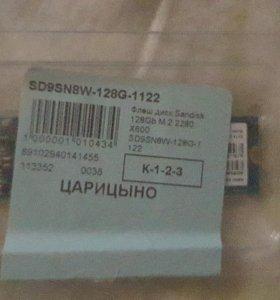 SSD Sandisk 128 gb